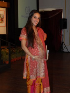 Indian Pregnant Woman